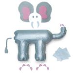Как сделать слона из пластиковых бутылок